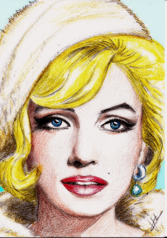 Marilyn Monroe by isabella1988
